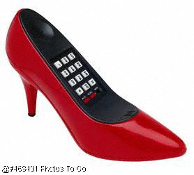High heel shoe telephone