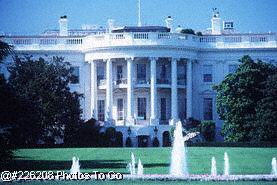 Exterior of White House, Washington DC